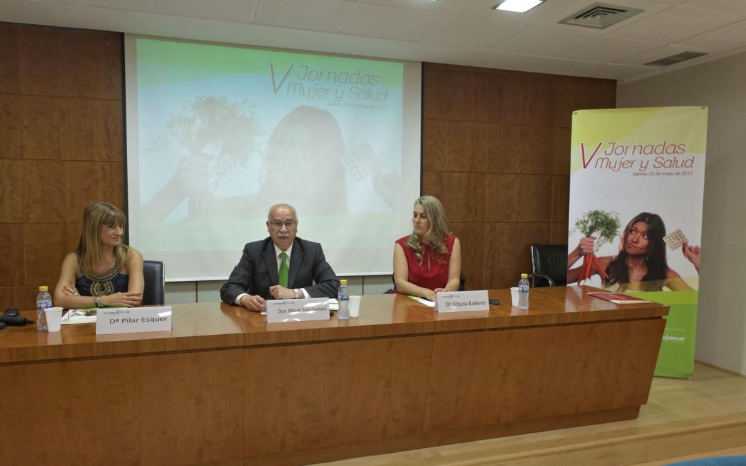 """[CHARLA]: V Jornadas """"Mujer y Salud"""" – Ayuntamiento de Castellón"""